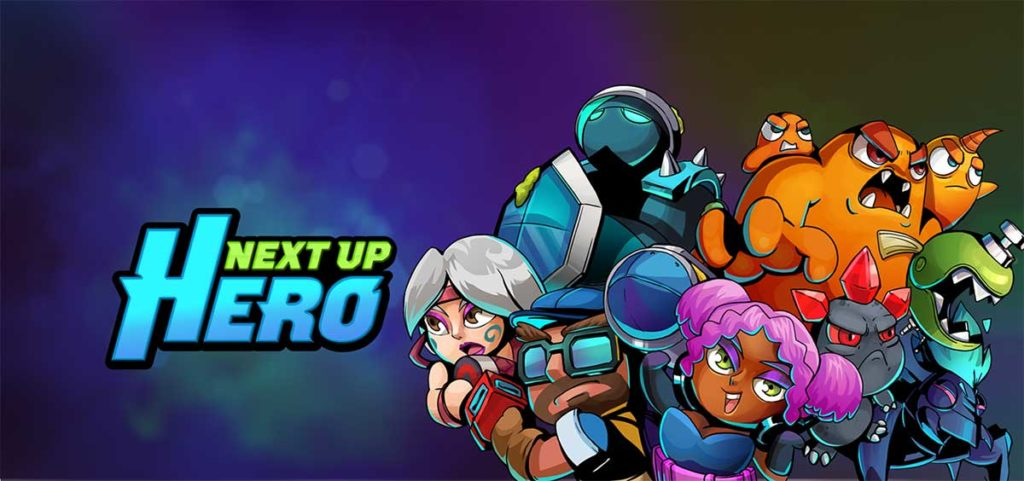 la copertina di Next Up Hero