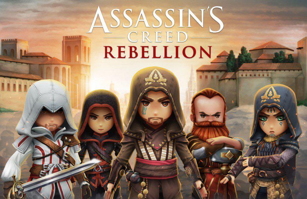 Assassin's Creed Rebellion - Dal 21 novembre su iOS ed Android