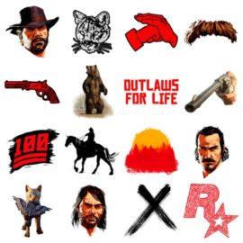 Red Dead Redemption 2 – Sticker e GIF Ufficiali del gioco disponibili su Giphy!