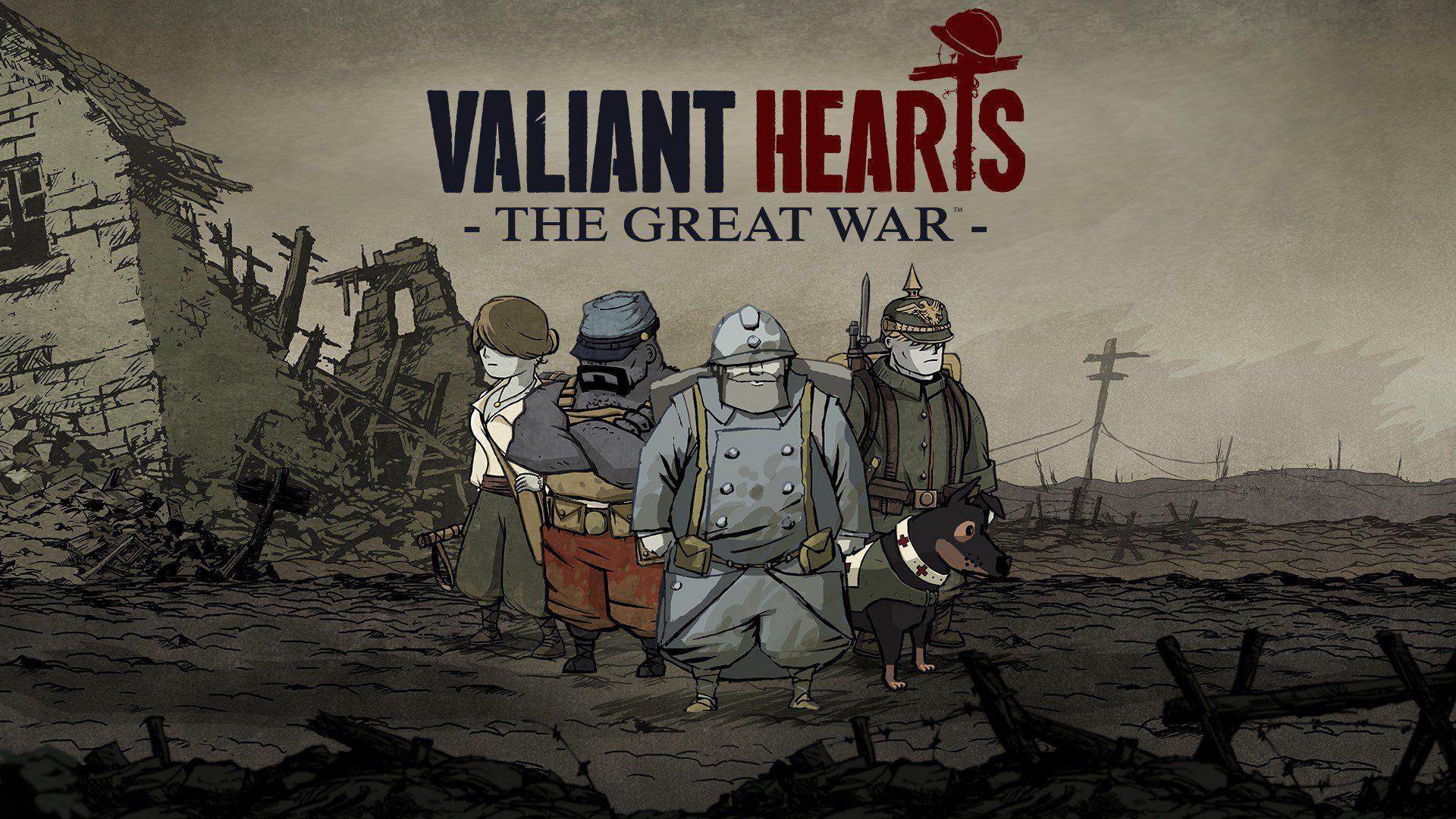 Valiant Hearts: The Great War - Ora disponibile su Nintendo Switch - Nerdream.it